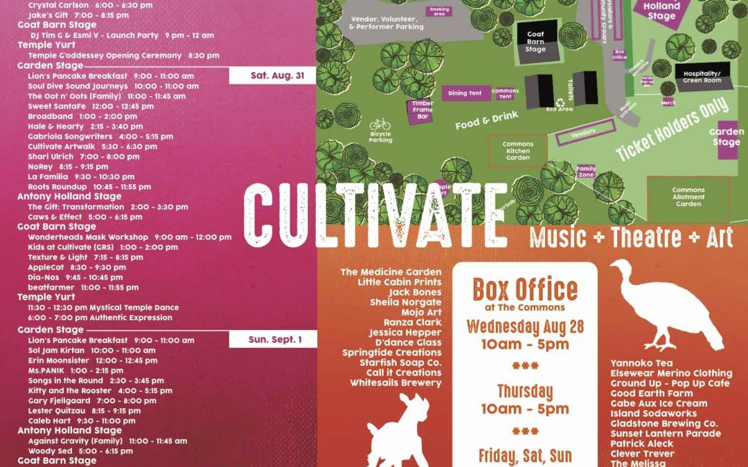 Updated Schedule and Site Map